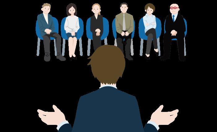 スピーチ会(大阪)の目的はまず人前でのスピーチに慣れること