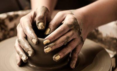趣味の陶芸で作った陶器に愛着が沸きました